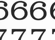 trasferibilir41 13,1mm, NERO. Trasferelli-Trasferibili R41 in fogli 9x25cm. Numeri  Volta W p. 124 R41LNW1480n.