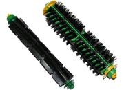 gbc Coppia spazzole centrali spazzole centrali (setole e gomma) complete di cuscinetti per Irobot Roomba serie 500.