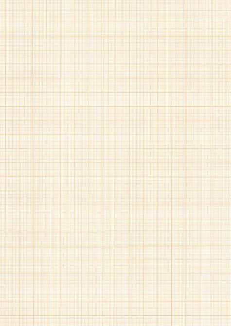 gbc Fogli di carta millimetrata, in formato B2 (50x70cm) 140gr, in carta OPACA finissima, quadretti color arancio.