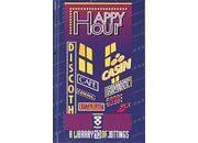 qpaperruggeri Happy hours - Vita notturna formato cm 11x17,4, legatura: Cucito filo refe, foliazione: 128 pagine numerate, a righe interasse 5 mm, carta da 100gr/mq.