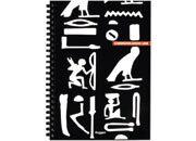 qpaperruggeri Communication Egyptian - Quadrettato / Graph 5 mm formato A6, legatura: W.O. lato lungo, foliazione: 50 fogli, carta da 80gr, quadretti 5mm.