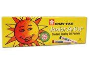 varie Pastelli a olio cray-pas Pastelli a olio morbidi in astuccio. Ideali per scuole materne ed elementari. Colori intensi e coprenti. Junior Aartist craypas standard xep-25.