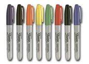 gbc Marcatore sharpie blu permanente p.fine Marcatore a forma di penna con inchiostro a rapida essicazione, resistente all`acqua. scrive su quasi tutte le superfici. tratto 1mm.